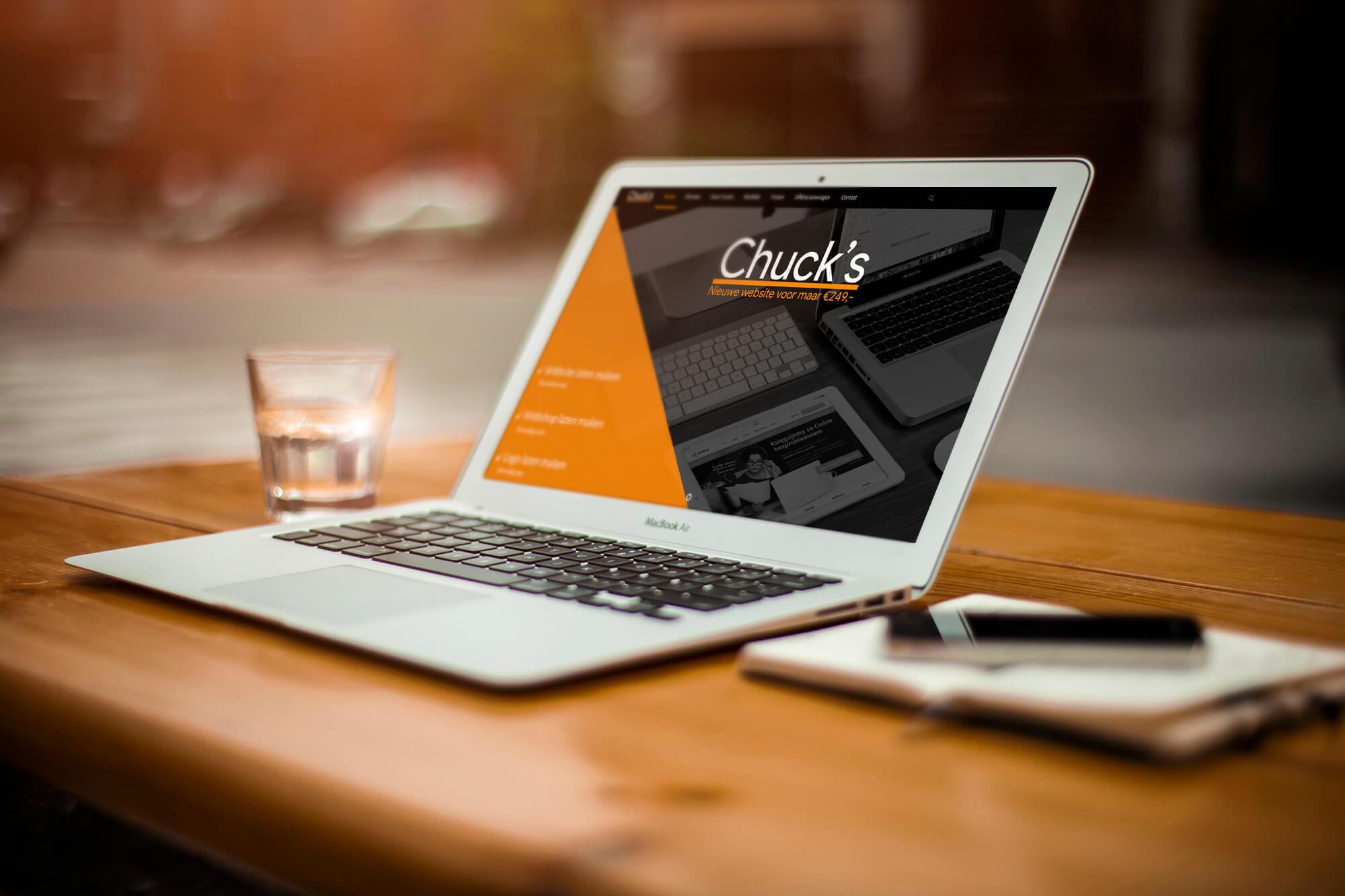 Een professionele website laten maken kunt u aan ons overlaten