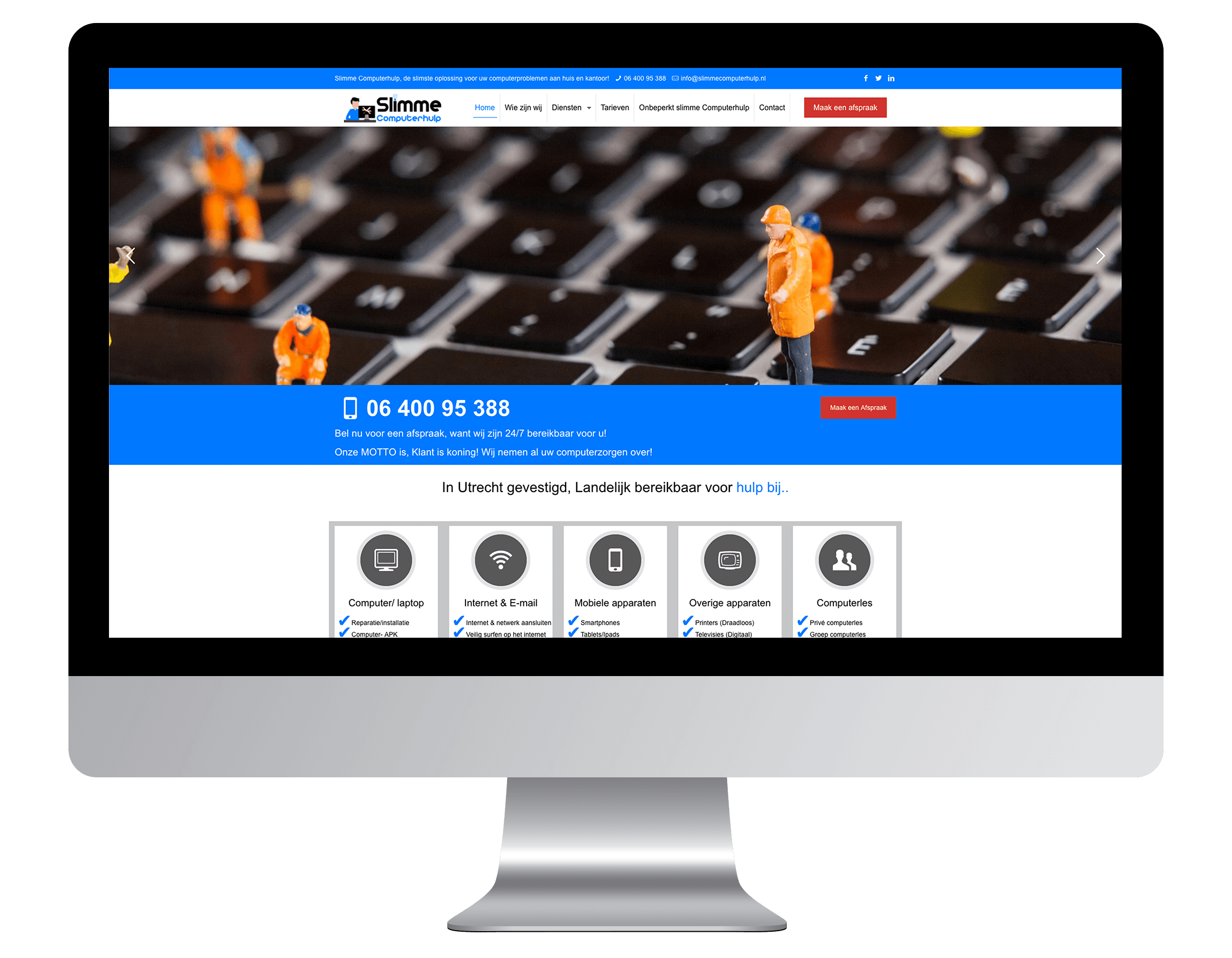 Een website laten maken door Slimme Computerhulp