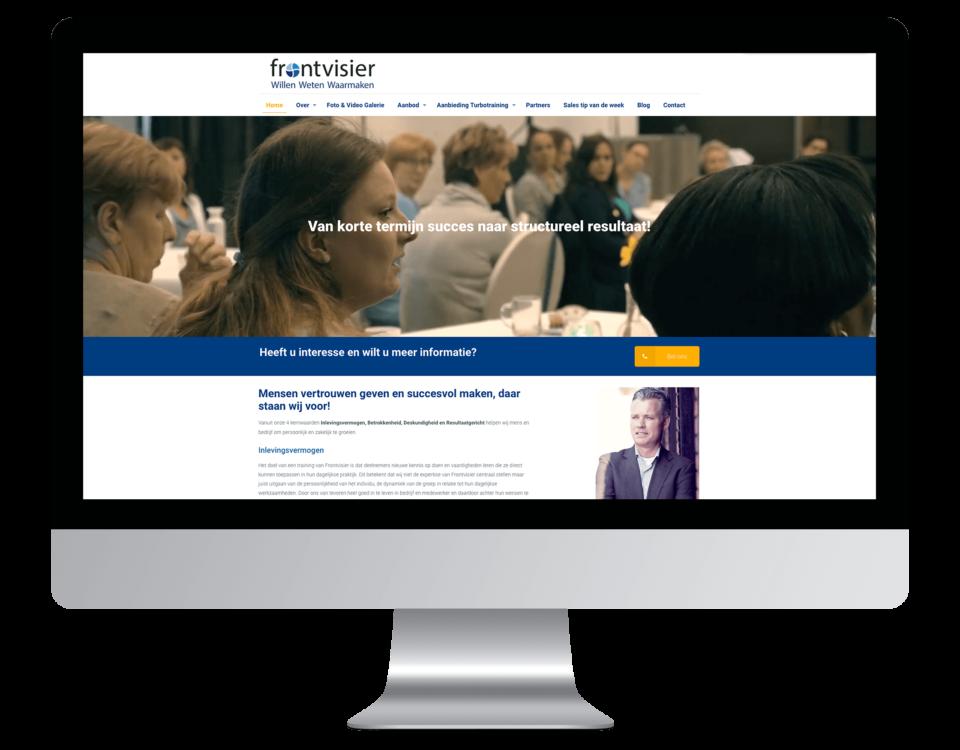 Een website laten maken door Frontvisier