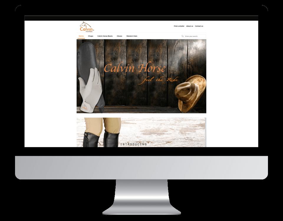 Een nieuwe website laten maken door Calvin Horse