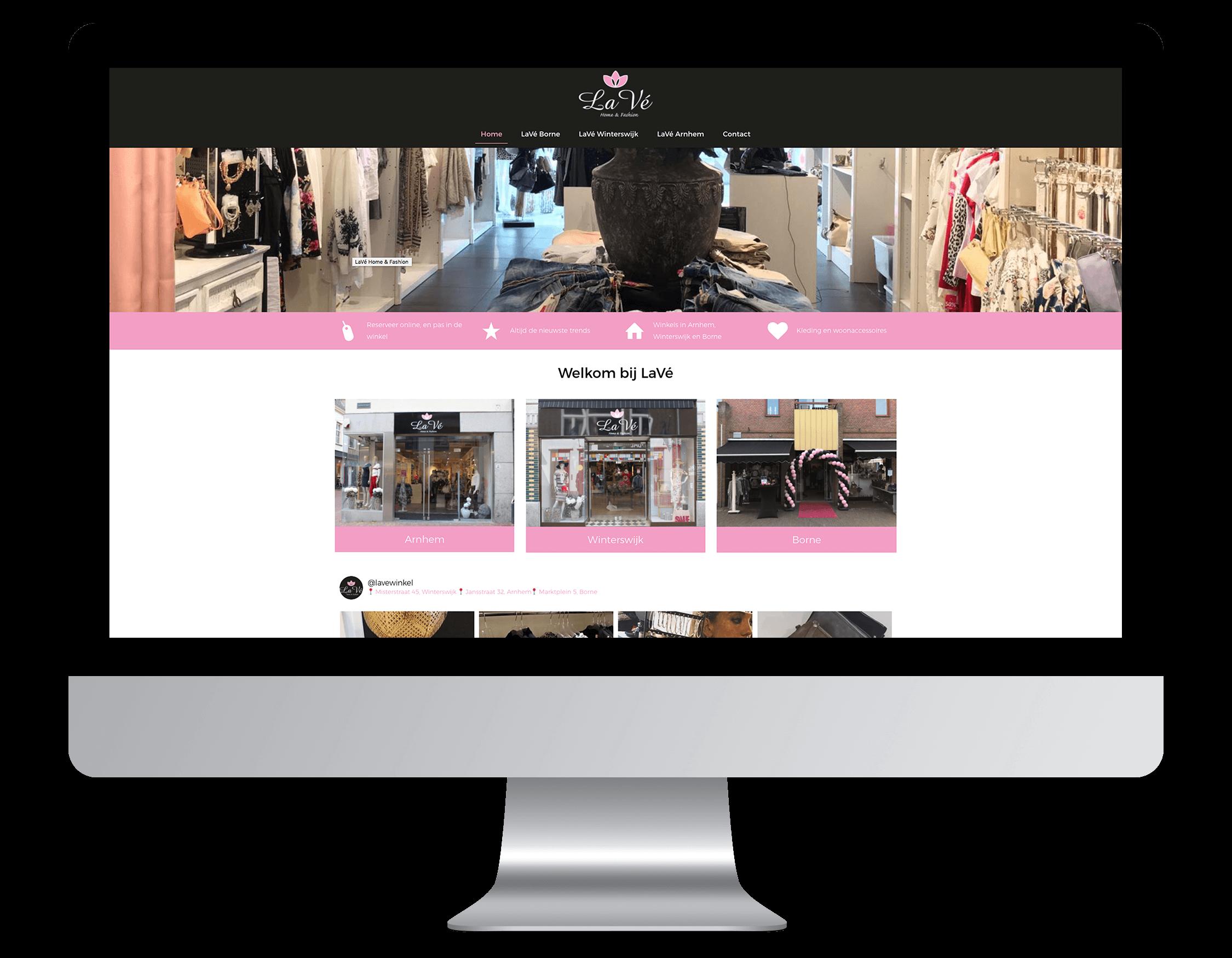 Een nieuwe website laten maken door LaVé