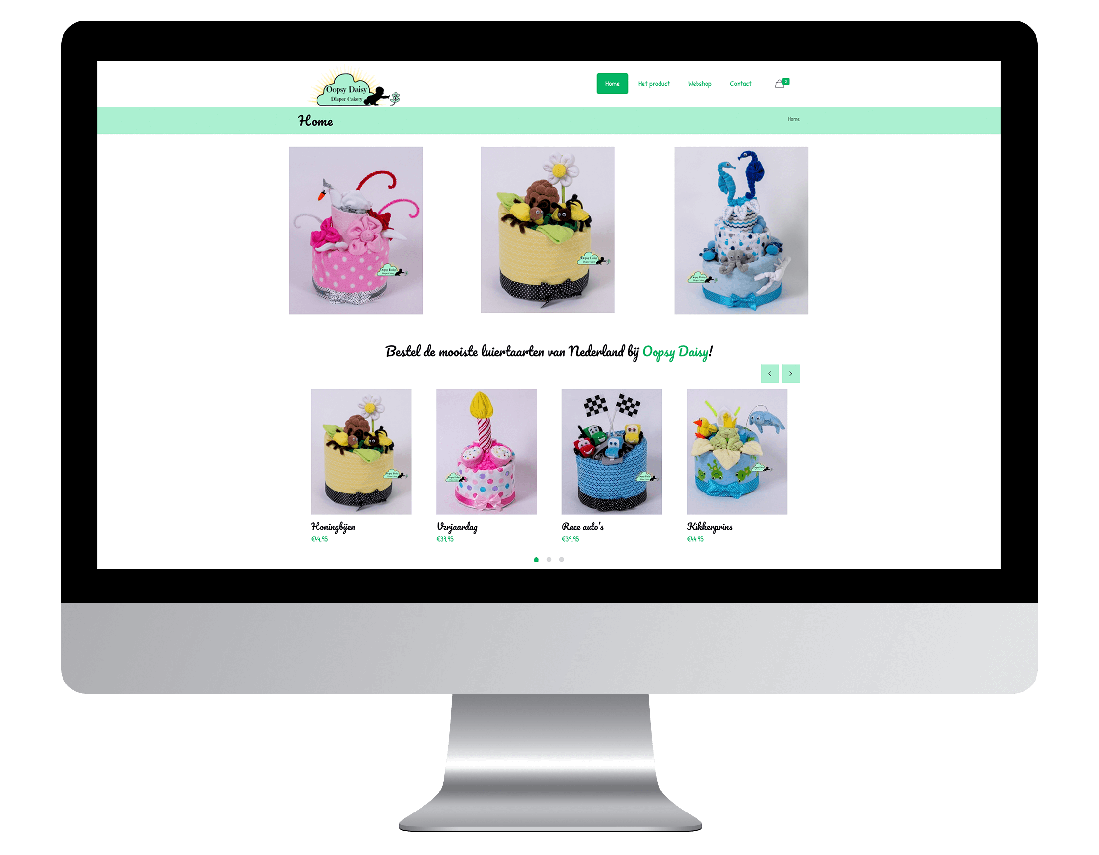 Een nieuwe website laten maken door Oopsy Daisy