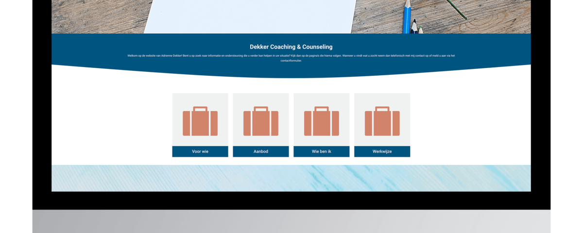 Website laten maken door Dekker Coaching