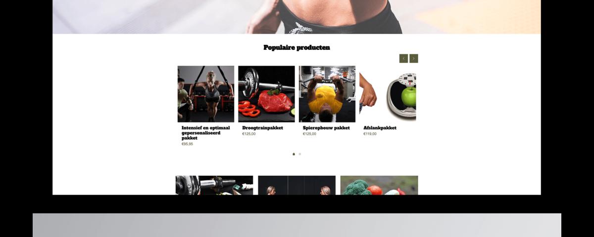Webshop laten maken door JP Lifestyle